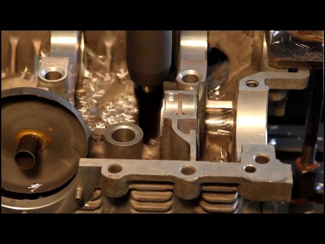 Обработка картера двигателя на станке ЧПУ - Орион Автодеталь производство автоз...