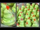 Безе Ёлочки рецепт Как приготовить Безе Новогодние Ёлочки Meringue Christmas tree