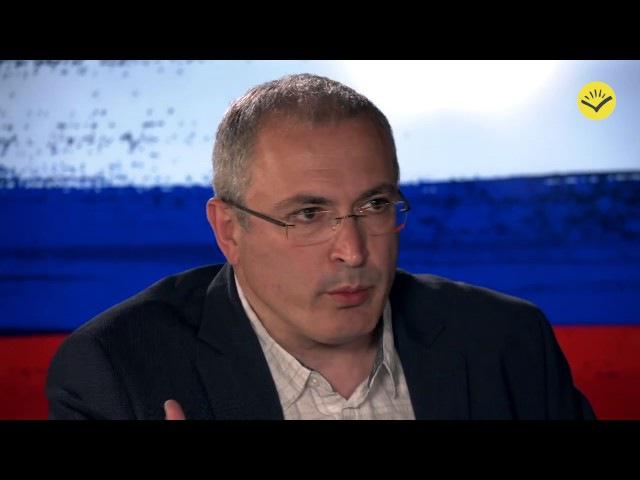 Ходорковский и Быков. «Путин попал в спираль, из которой невозможно выбраться»
