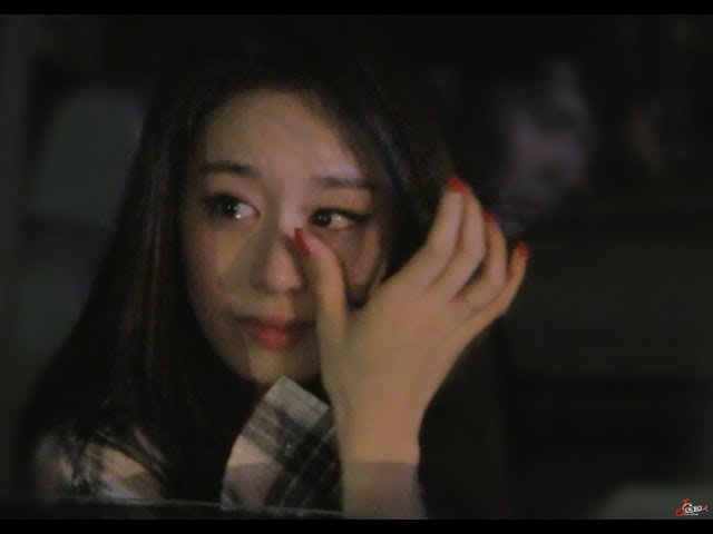 Jiyeon T-ara cry after 1st win Theshow 170620 - 티아라 지연 더쇼 1위 퇴근길 직캠