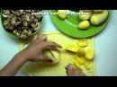 Вкусно и просто Картофель жаренный с грибами Пошаговый рецепт с видео