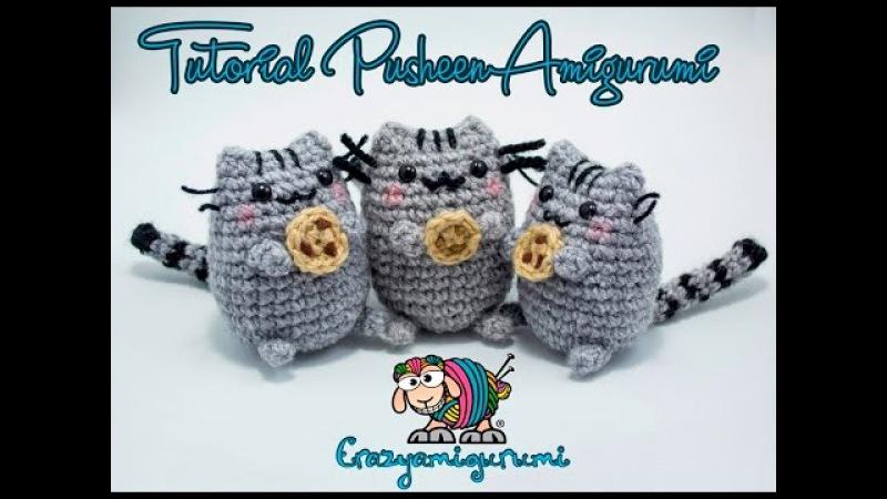 Tutorial Pusheen crochet Amigurumi