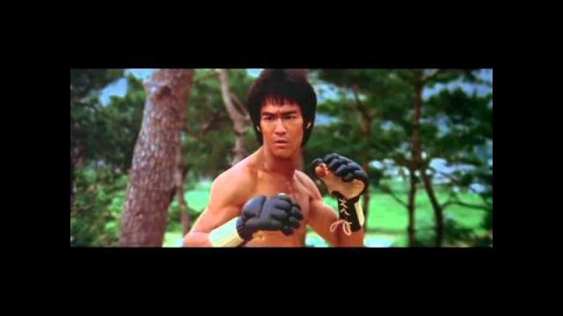 Брюс Ли vs Само Хунг (Bruce Lee vs Sammo Hung) Выход Дракона (Enter The Dragon)