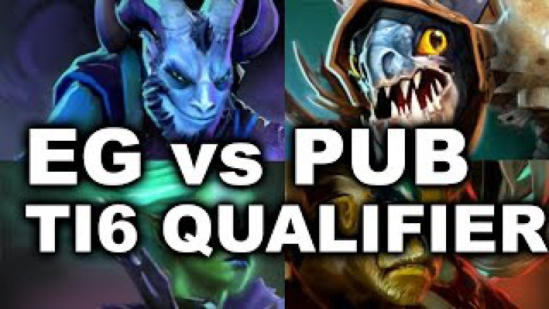 EG Zai Universe vs US PUBS - TI6 AMERICA OPEN QUALIFIER Dota 2