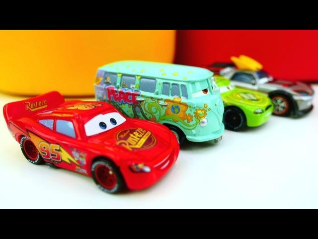 Apertura giochi per bambini-Cars giocattoli nuovi episodi italiano- Pista da corsa per le macchine