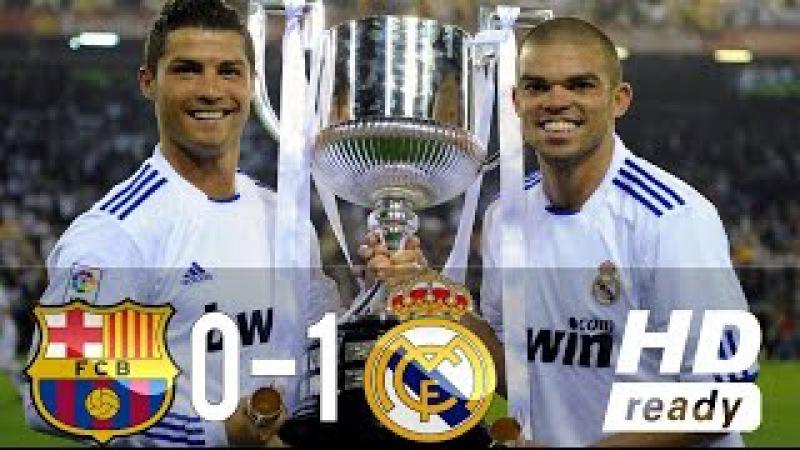 Barcelona vs Real Madrid 0-1 HD All Goals Highlights (20/04/2011)