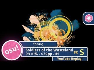 Yaong | DragonForce - Soldiers of the Wasteland [Legend] FC 99.81% 639pp #1