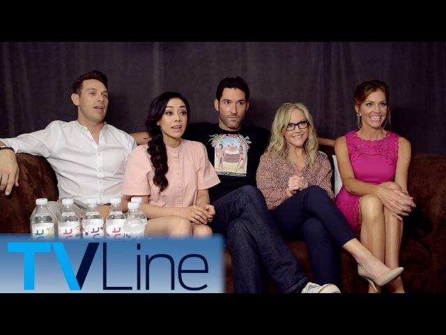 Lucifer Cast Interview | Comic-Con 2017 | TVLine