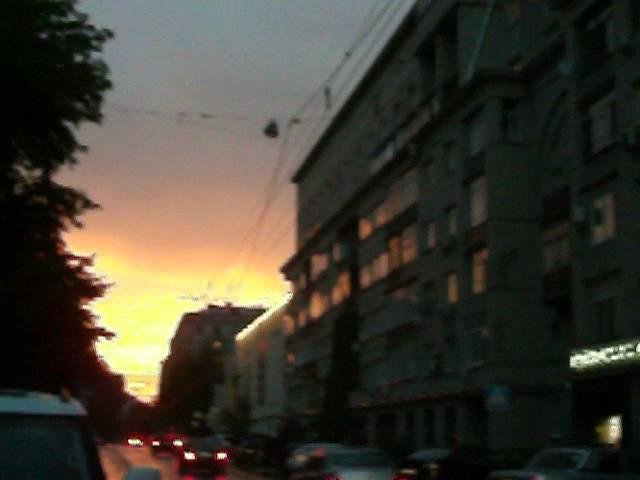 Виктор Пузо и закат