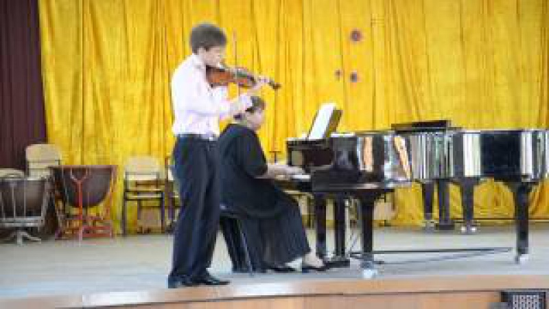 Ю.Мейтус Аллегро. Герман Баятян (скрипка), Марина Виноградская (рояль)