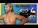 Mike Donavanik Arms and Abs Dumbbell Workout For Toning and Strength Майк Донаваник Тренировка для живота и рук