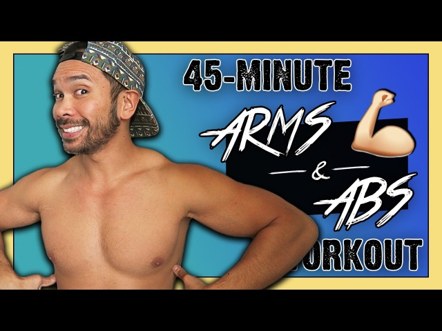 Mike Donavanik - Arms and Abs Dumbbell Workout For Toning and Strength   Майк Донаваник - Тренировка для живота и рук