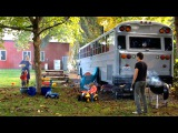 Family Ditch Expensive Rents To Live In A Converted School Bus MAKING MAD