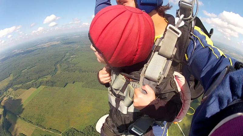 Никита - первый прыжок