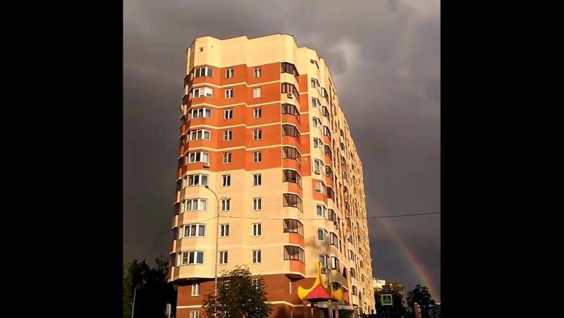 Пол жизни прожила, а все не нарадуюсь радуге р... Погода в городах России 22.07.2017
