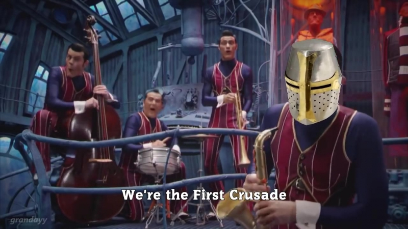 We Are Number One but its the First Crusade