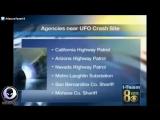 UFO CRASH Hidden By MIB In California! 5-18-17