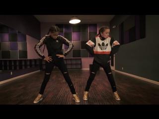 2 маленькие девочки танцуют под хит Desiigner - Panda. #dance@bestcovers