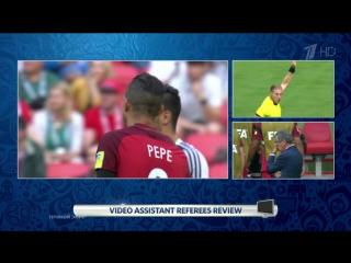 Первый гол турнира, отмененный после видеоповтора. Кубок конфедераций FIFA 2017