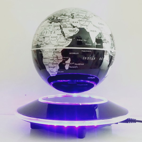 Парящий глобус!  https://ru.aliexpress.com/store/product/6-Inch-Electronic-Magnetic-Levitation-Floating-Globe-World-Map-with-LED-Lights-Home-Office-Decoration-Business/1953824_32626568067.html?detailNewVersion=&categoryId=200042147