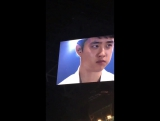 13.05.17 EXO CUP Double Cup (Day 2) - D.O. eats wasabi sushi
