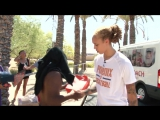 Brittney Griner and Phoenix Rescue Mission Distribute Shoes and Water to Homeless in Phoenix