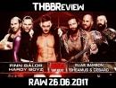 WWE Monday Night RAW 26 06 2017 The Hardy Boyz Finn Balor vs Sheamus Cesaro Elias Samson