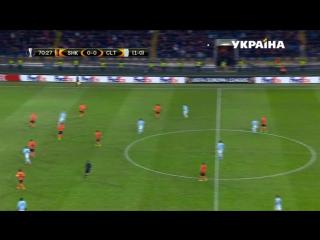Футбол. Лига Европы UEFA. Шахтер (Украина) - Сельта (Испания). 2 тайм
