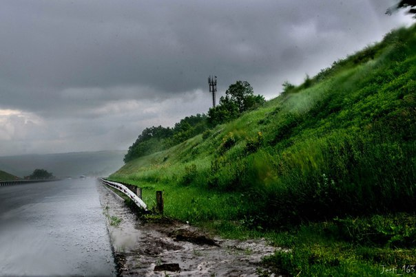 Самарская область,Висловка,трасса М5 Фото: Антон Тергалинский