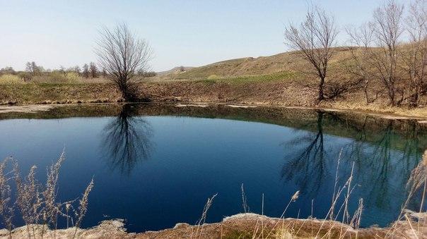 Голубое озеро. Сергиевский район. Фото: Мария Андреева