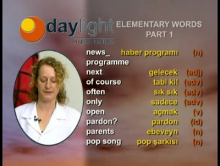 Daylight 14.Ders: Elementary Class General Topics 4