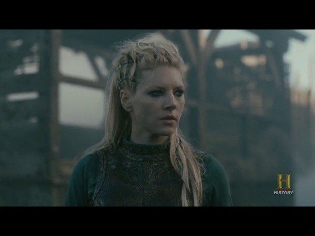 Vikings - Lagertha Attacks Kattegat [Season 4B Official Scene] (4x13) [HD]