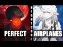 ♪ Nightcore - F**kin' Perfect / Airplanes (Switching Vocals)