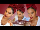 How To Headwrap - I DONT HAVE A SCARF LET ME HEADWRAP WITH LEGGINGS TUTORIAL  Samantha Pollack