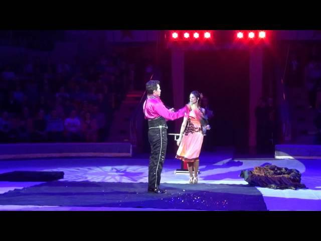 Дуэт Сиксто и Лючия, трансформация. 8-й Международный фестиваль циркового искусс...