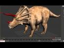 29 урок - Продвинутый моделинг в 3dsMax и Mudbox (Динозавр)