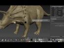 27 урок - Продвинутый моделинг в 3dsMax и Mudbox (Динозавр)