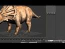 31 урок - Продвинутый моделинг в 3dsMax и Mudbox (Динозавр)