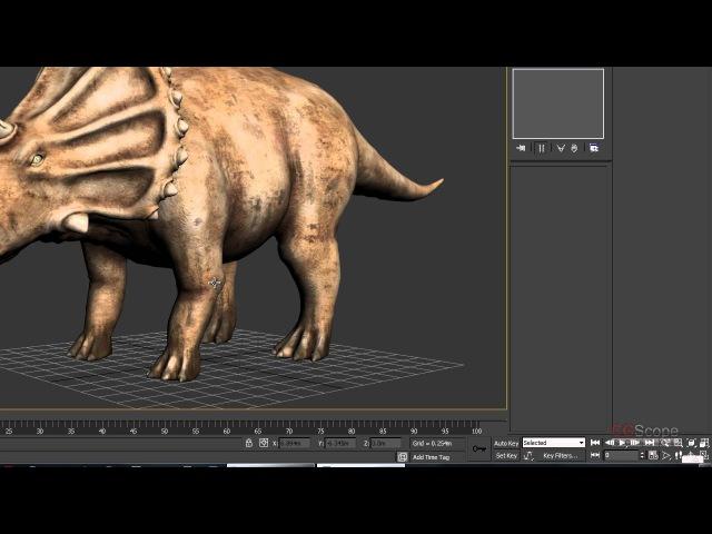 31 урок - Продвинутый моделинг в 3dsMax и Mudbox (Динозавр) » Freewka.com - Смотреть онлайн в хорощем качестве