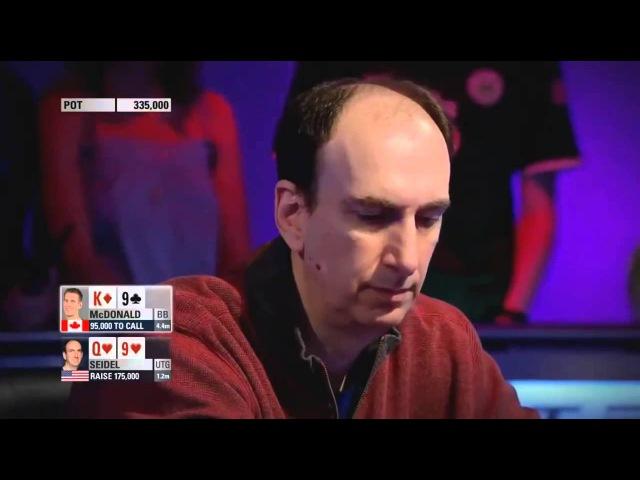 Покер. ЕПТ 10 Барселона. Турнир суперхайроллеров. Часть 5 (2013)
