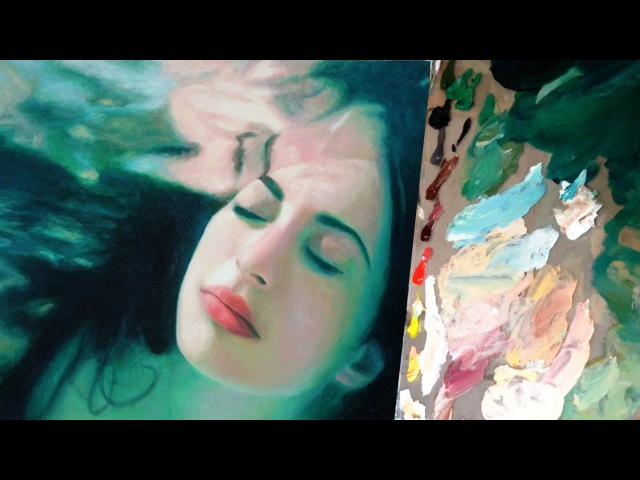 Haven | Real Time Color-Mixing and Oil Painting Demonstration