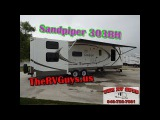 Your Kids Are Going To Love This Huge Bunkhouse! 2008 Sandpiper 303BH