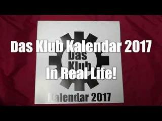Das Klub Kalendar 2017 - Printed Version!