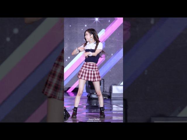 [4k] 170724 블랙핑크(Black pink) - '불장난' 로제 직캠 @ 2017 울산 썸머페스티벌 by Sun Child