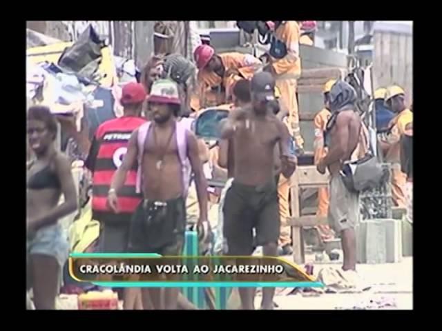 Crack volta a ser vendido na favela do Jacarezinho