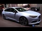 2018 Opel Insignia Turbo X - Exterior Interior Walkaround - 2017 Geneva Motor Show