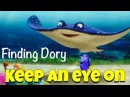 Идиома to KEEP AN EYE ON someone из В поисках Дори / Finding Dory