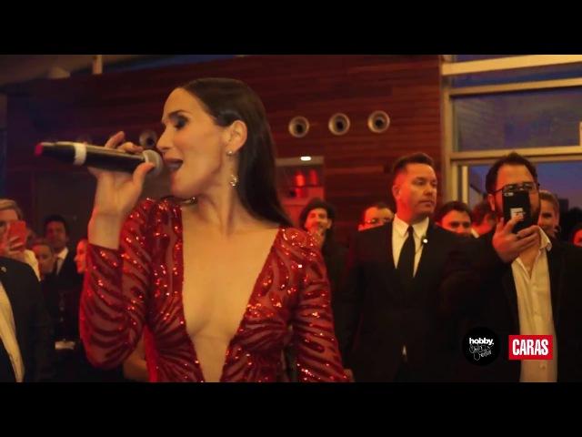 Natalia Oreiro canta Gilda en la Gala de Caras