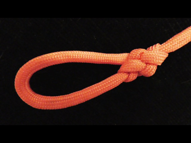 How To Tie The Broach Loop Knot With Paracord