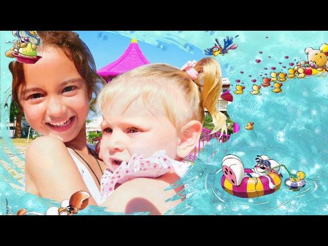 YAZIN oynanacak OYUNLAR! Deniz oyuncakları 🐠🦀🌊 Plaj oyun seti ile oynuyoruz! Komik çocuk videoları